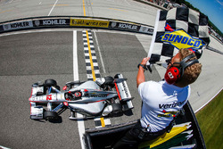 Sieg für Will Power, Team Penske, Chevrolet