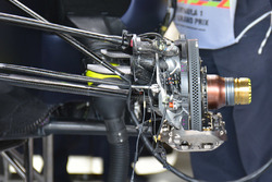 Red Bull Racing RB12 front disc brake detail