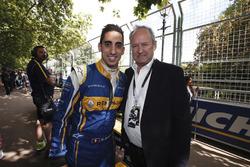 Sébastien Buemi, Renault e.Dams; Jerome Stoll, Renault