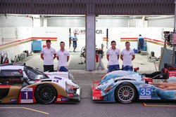 David Cheng, James Winslow, Jackie Chan DC Racing Ligier JSP3 and Ho Pin Tung, Gustavo Menezes, Jack