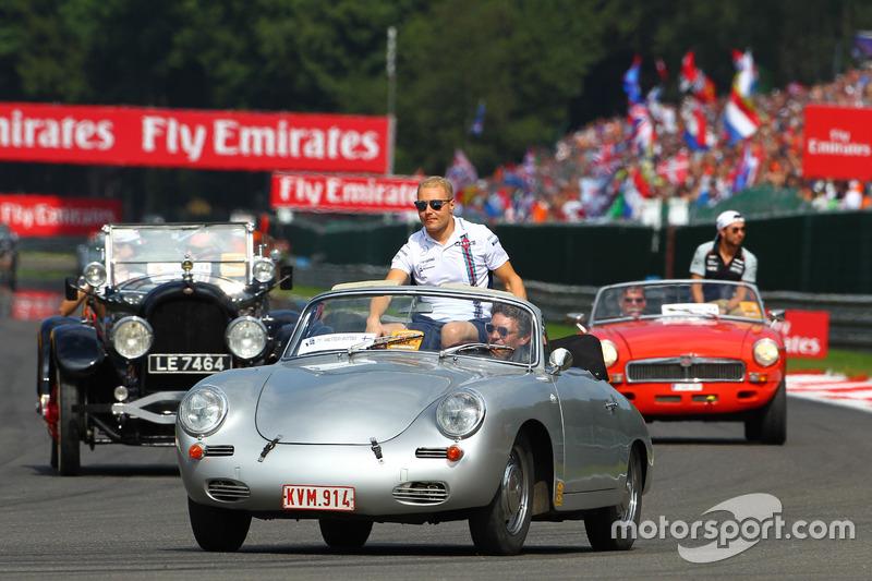 Valtteri Bottas, Williams nella sfilata dei piloti