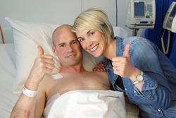 Ryan Farquhar mit seiner Frau Karen Farquhar