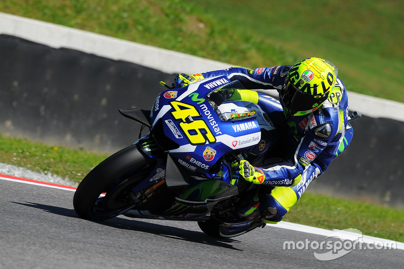 Valentino Rossi (Yamaha) Ausfall