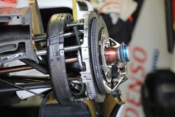 Vue détaillée des freins : Toyota Gazoo Racing Toyota TS050 Hybrid