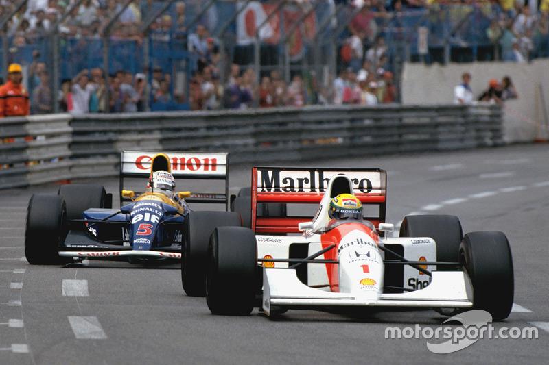 5 место. Гран При Монако 1992, Монте-Карло
