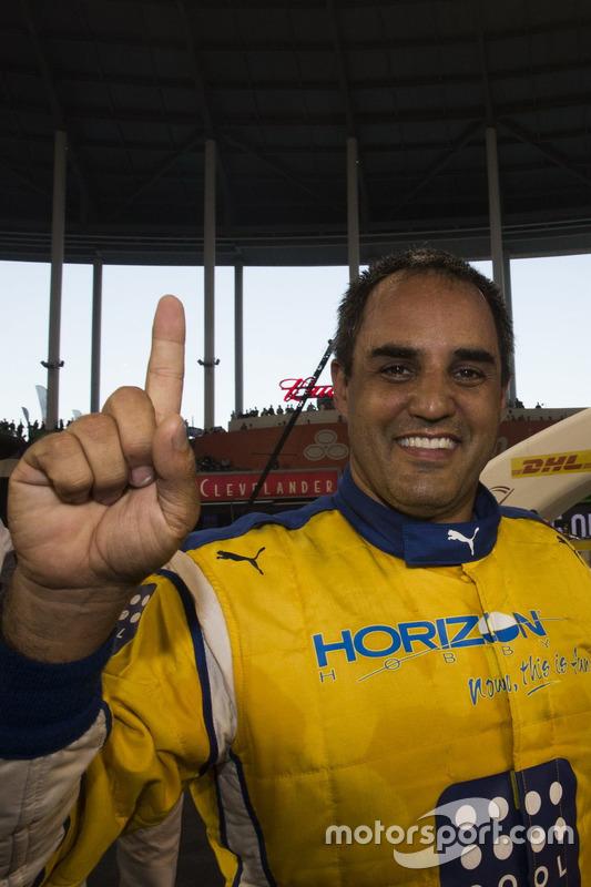 Champion of Champions Juan Pablo Montoya