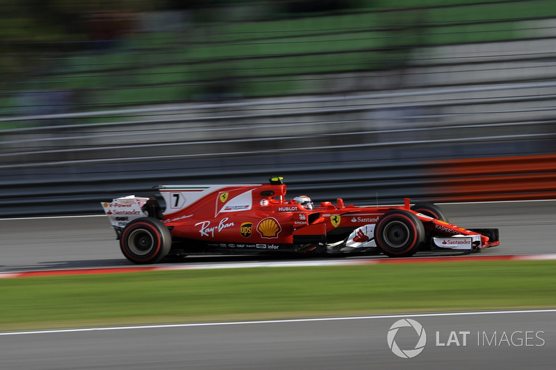 Ausfall: Kimi Räikkönen, Ferrari SF70H