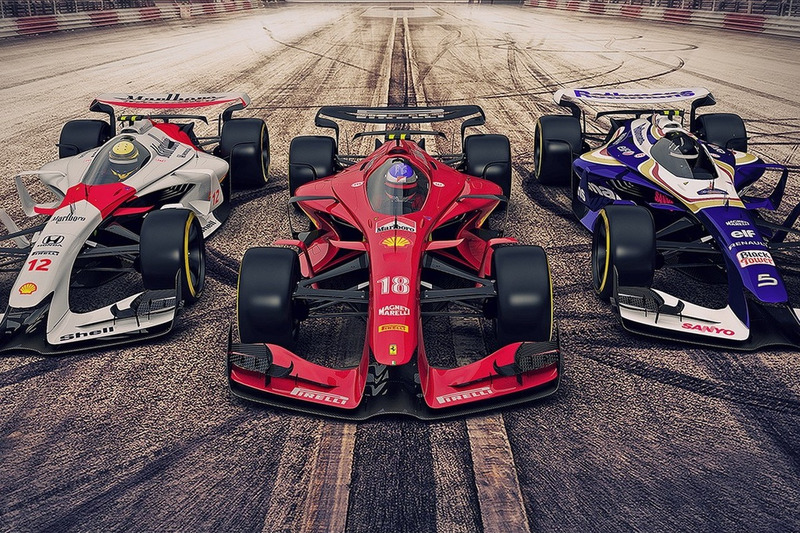 Designstudien: Ferrari, McLaren und Williams 2025