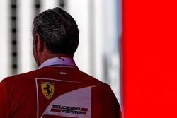 Maurizio Arrivabene, director Ferrari Team