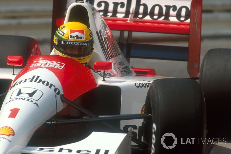 1991 Monaco: McLaren MP4/6