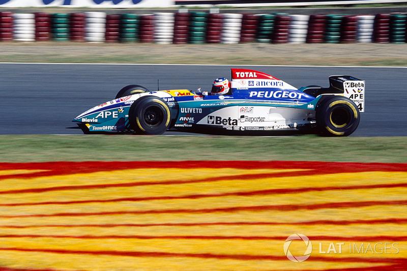 Рубенс Баррікелло, Jordan 195 Peugeot