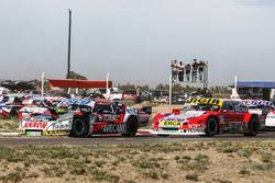 Guillermo Ortelli, JP Carrera Chevrolet, Juan Manuel Silva, Catalan Magni Motorsport Ford