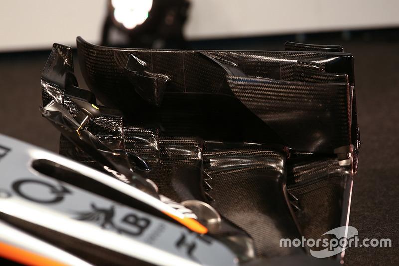 Force India F1 VJM10: Frontflügel