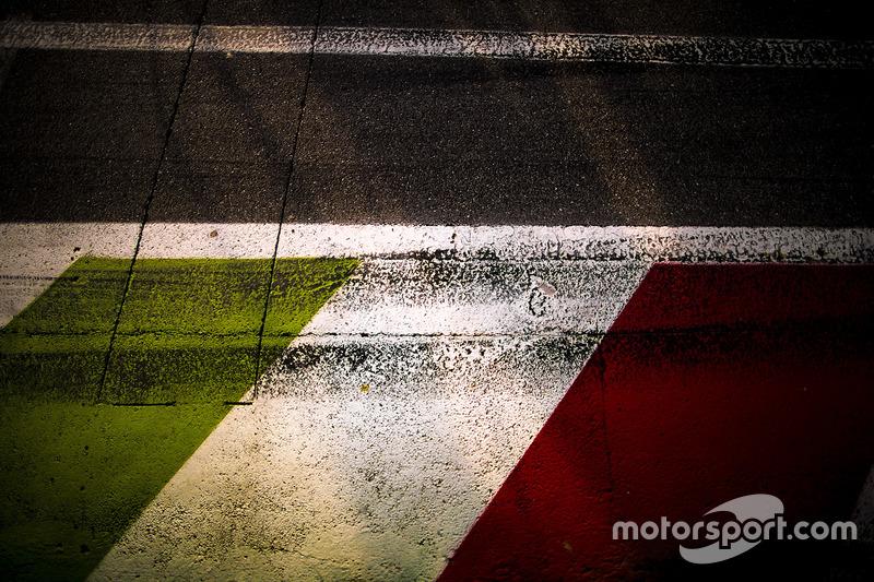 Asphalt im Autodromo Nazionale Monza
