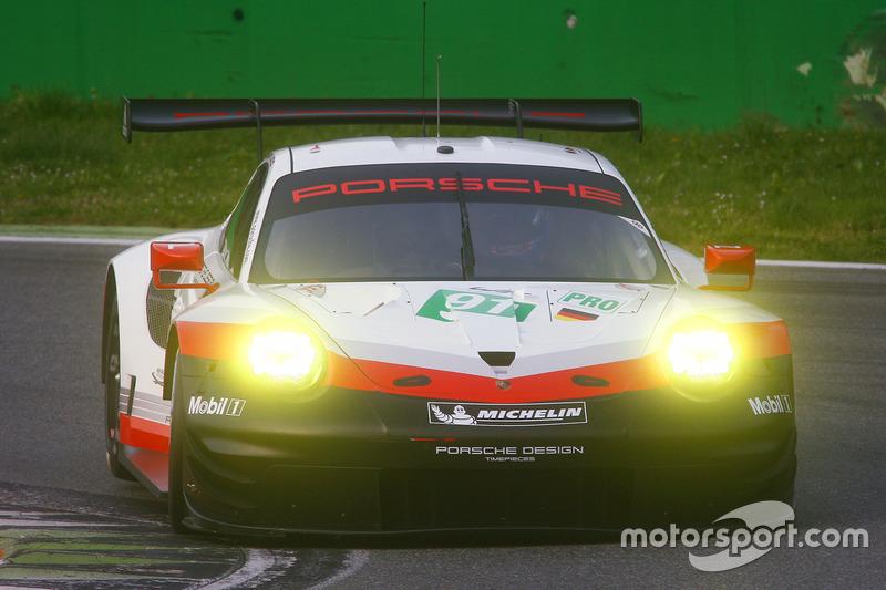 #91 Porsche Team, Porsche 911 RSR: Nick Tandy, Patrick Pilet, Kevin Estre