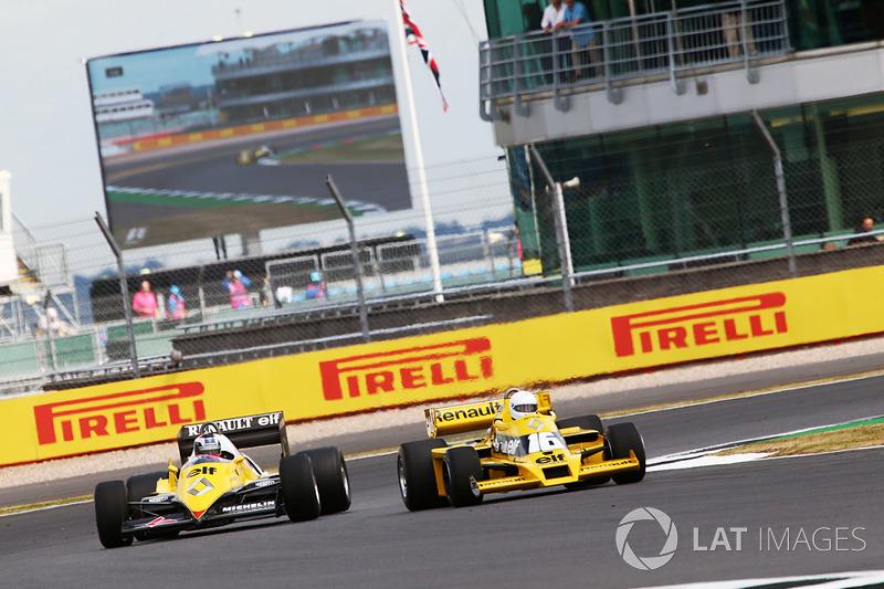 Renault Sport F1 Team F1 Histórico, René Arnoux y Franck Montagny