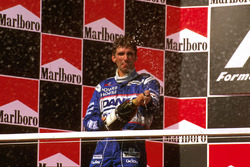 Podium: tweede Damon Hill, Arrows