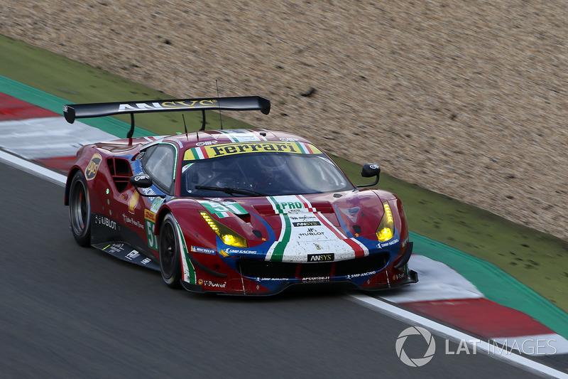 Джеймс Каладо, Алессандро Пьергвиди, AF Corse Ferrari 488 GTE