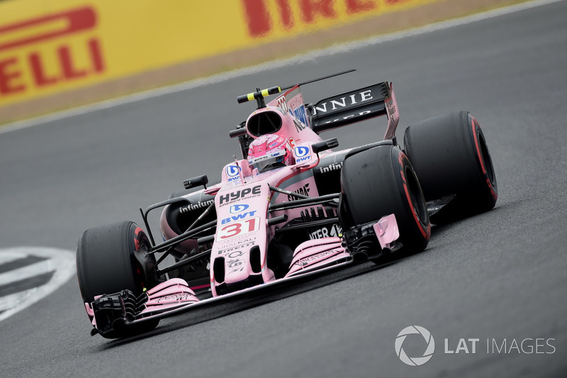 Естебан Окон, Sahara Force India VJM10