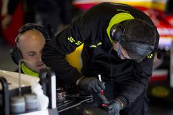 Campos Racing mechanics at work