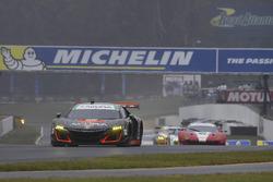 #93 Michael Shank Racing Acura NSX: Andy Lally, Katherine Legge, Mark Wilkins