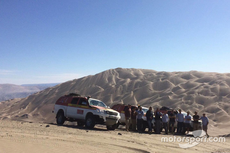 Reconocimiento Dakar 2018 en Perú