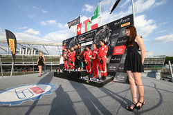 Pro Am Cup: i vincitori #97 Oman Racing Team with TF Sport, Aston Martin V12 GT3: Ahmad Al Harthy, Jonny Adam , al secondo posto #888 Kessel Racing, Ferrari 488 GT3: Jacques Duyvier, Zanuttini, David Perell, al terzo posto #53 Spirit Of Race, Ferrari 488 G