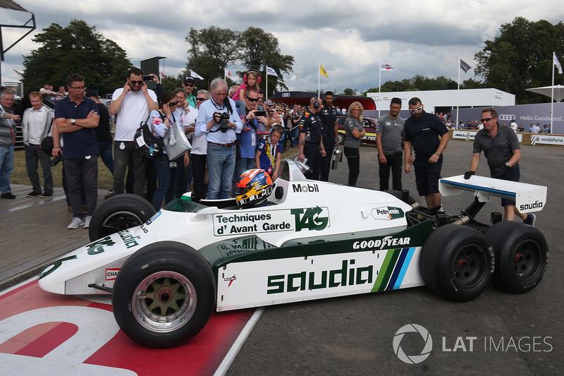 Karun Chandhok, Williams FW08B 6 wheeler