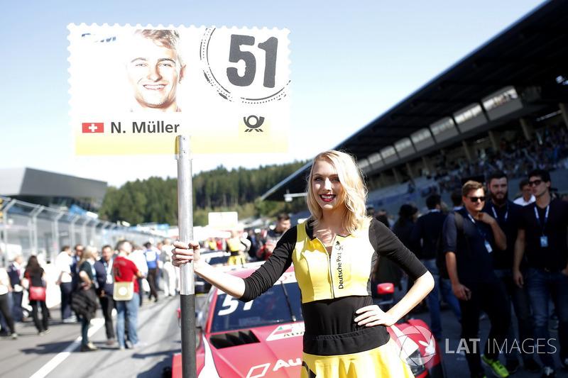 Грід-гьол Ніко Мюллера, Audi Sport Team Abt Sportsline, Audi RS 5 DTM