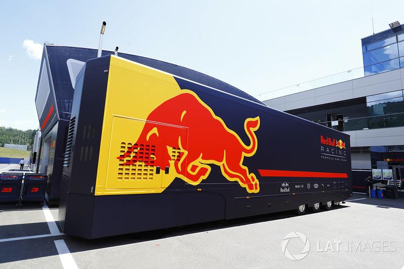 Motorhome: Red Bull Energy Station