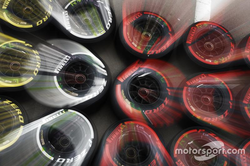 Mercredi : Les pneus Pirelli