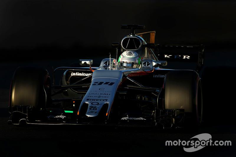 Alfonso Celis Jr., Force India F1