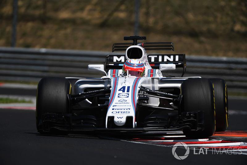 Лука Гіотто, Williams FW40