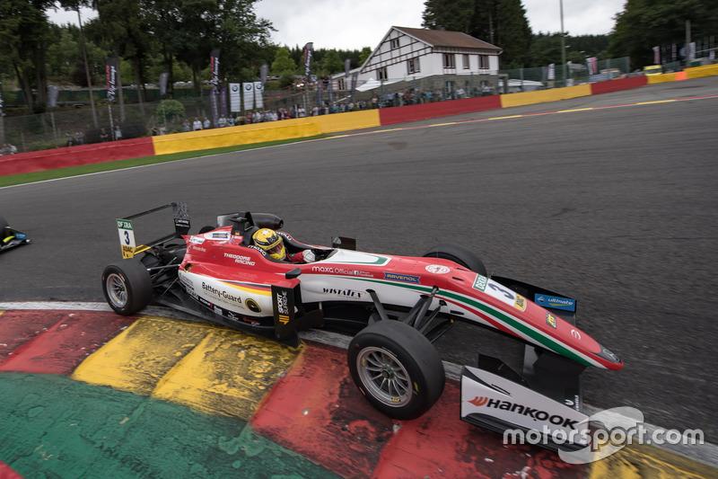Максимільян Гюнтер, Prema Powerteam Dallara F317 - Mercedes-Benz