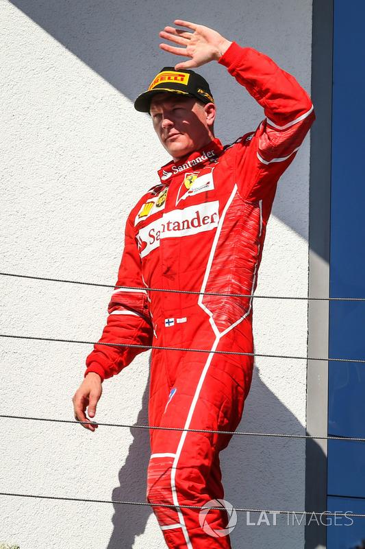 Подіум: Кімі Райкконен, Ferrari