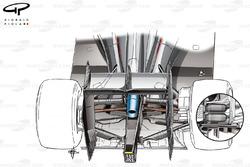 McLaren MP4/30 rear suspension comparison