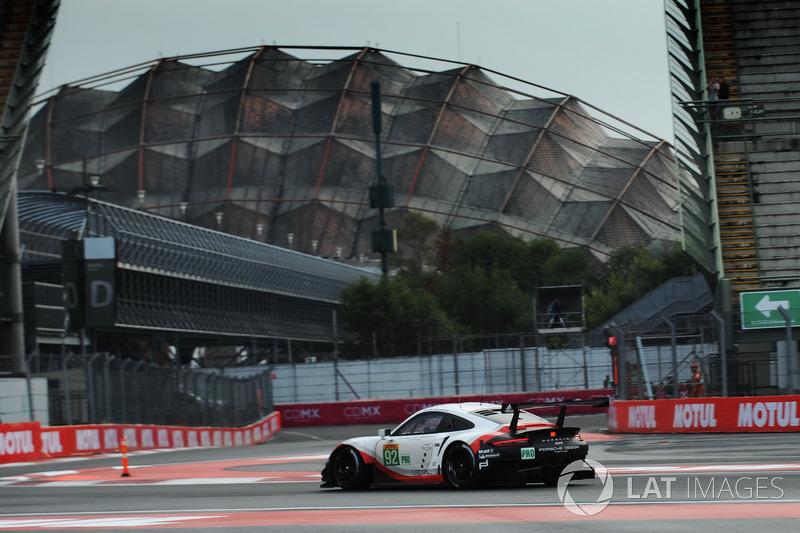 5. GTE-Pro: #92 Porsche Team, Porsche 911 RSR