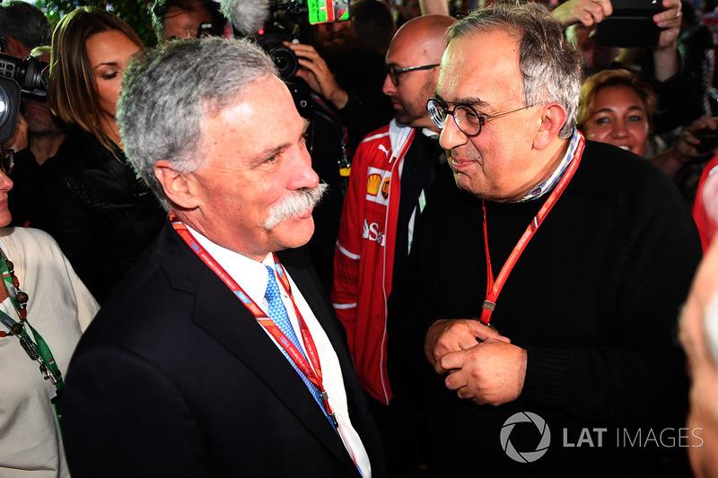 Chase Carey, diretor executivo da F1