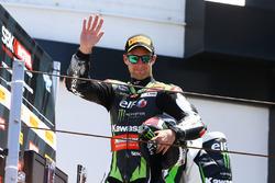 Podium : le troisième, Jonathan Rea, Kawasaki Racing