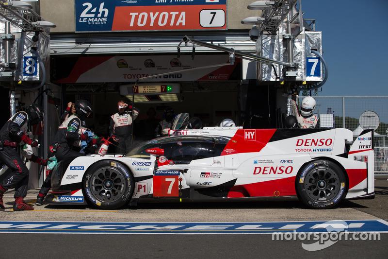 Ausfall LMP1: #7 Toyota Gazoo Racing, Toyota TS050 Hybrid