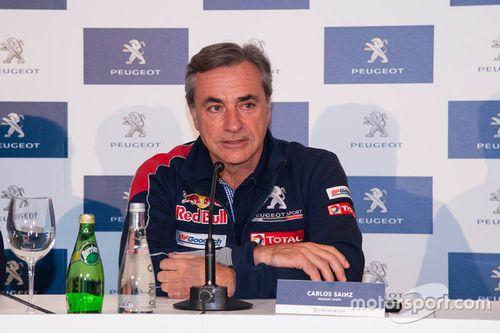 Carlos Sainz Dakar presentation