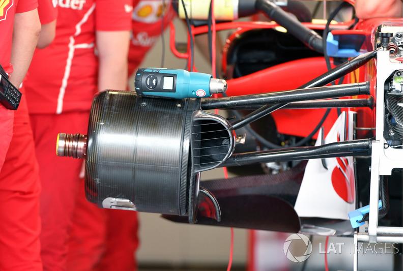 Ступица переднего колеса Ferrari SF70H