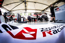 Toyota Racing team area