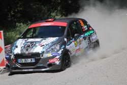 Jean-Marie Renaud, Yannick Schriber, Peugeot 208 R2, D-MAX Swiss