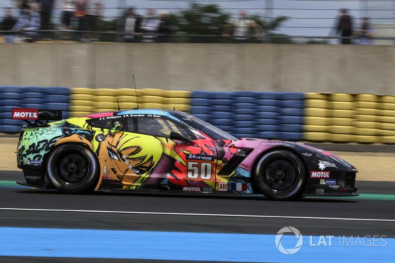 1. GTE-Am: #50 Larbre Competition, Corvette C7-Z06