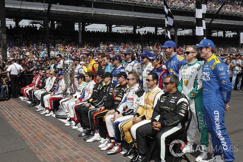37 гонщиков из 13 стран мира приняли участие хотя бы в одной гонке сезона