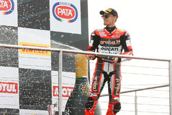 Podium: third place Chaz Davies, Ducati Team
