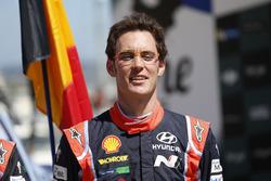 Podium: Ganador, Thierry Neuville, Hyundai i20 Coupe WRC, Hyundai Motorsport