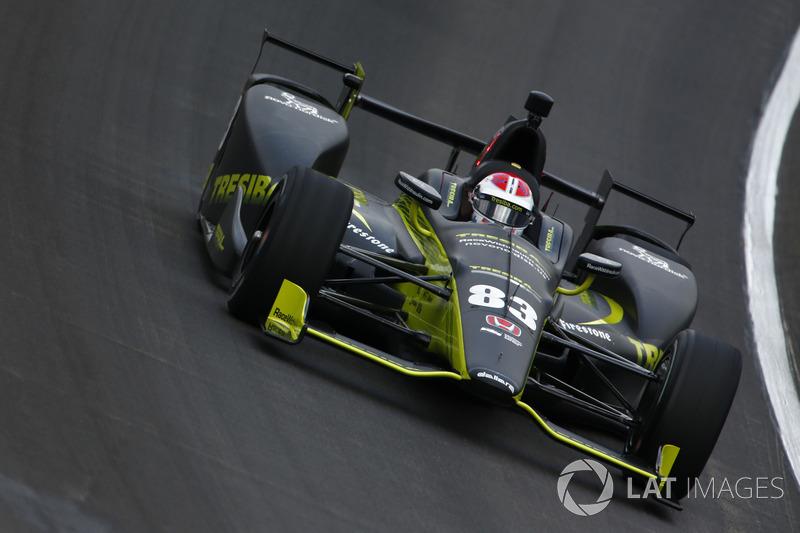 2017: Charlie Kimball (Ganassi-Honda) mit 23,293 Sekunden