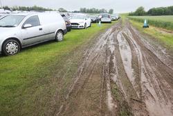 Muddy Car Park